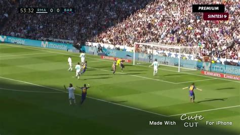 Barcelona Vs Real Madrid Goal HIGHLIGHTS - YouTube