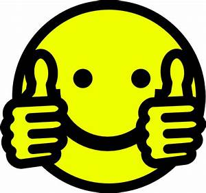 Happy Face Thumbs Up Clipart | Clipart Panda - Free ...