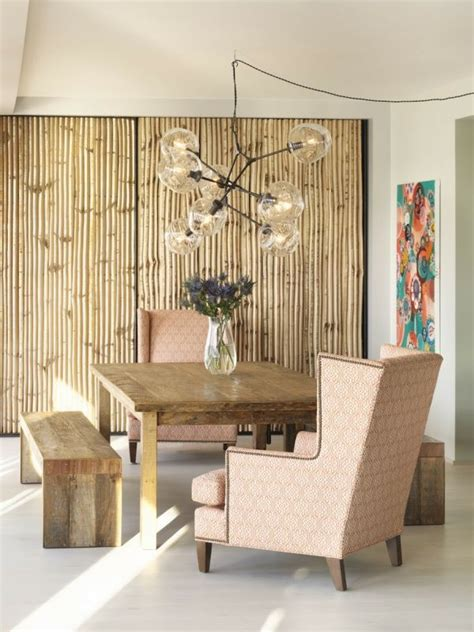 inspired  bamboo room ideas