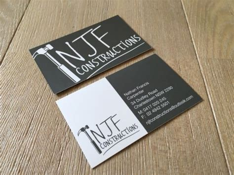 However, many contractors tend to limit their business card designs to classic colors and images that fail to stand out. New branding for a local construction company. Love how their business cards turned out ...