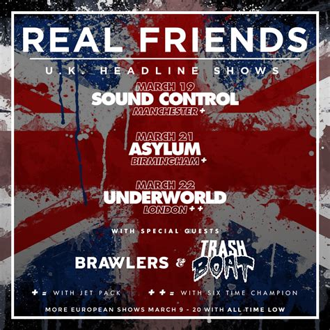 Trash Boat Birmingham by The Asylum Venue Real Friends Support Announced