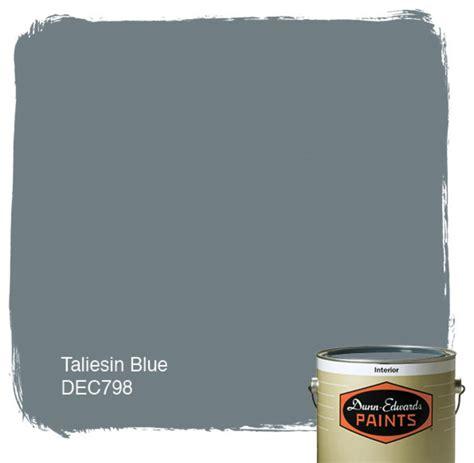 dunn edwards paints taliesin blue dec798