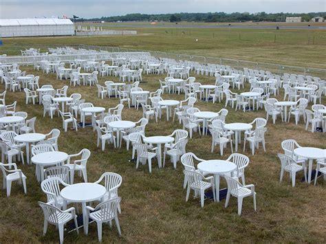 plastic garden furniture hire event hire uk