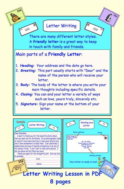 letter writing friendlybusiness   grade deals
