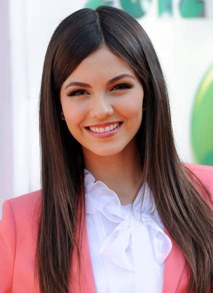 victoria justice cute long straight hair styles popular haircuts