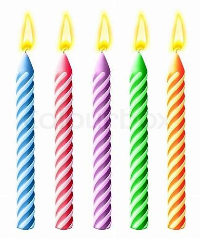 Birthday Candles Burning Clipart Illustrated Candle Google