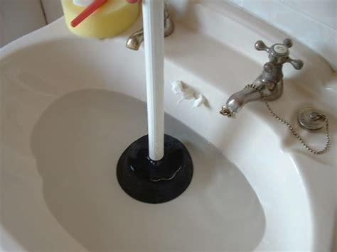 sink unblocking plumbing
