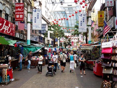 kuala lumpur petaling street chinatown  kuala lumpur