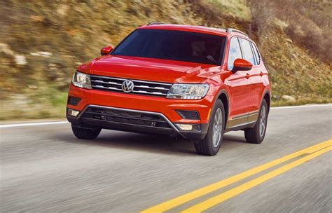 vw tiguan 2018 test 2018 volkswagen tiguan 4motion tested road test reviews