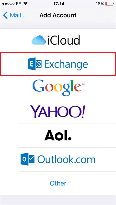 exchange email on iphone how to setup an exchange account on iphone all models