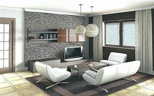 Modern Wallpaper Living Room