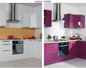 But Meuble De Cuisine : relooker des meubles de cuisine nos conseils peinture ~ Dailycaller-alerts.com Idées de Décoration