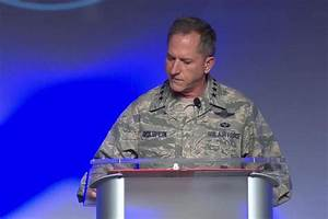 Air Force Chief of Staff Reveals Bell's Palsy Diagnosis ...
