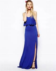 asos maxi robe avec top court asos pickture With robe vera moda