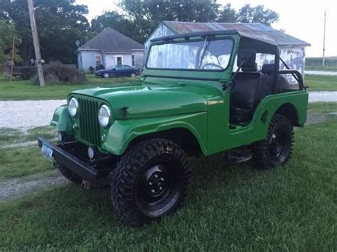 1965 Jeep Cj5 Fiberglass Body Very Good Condition Willys
