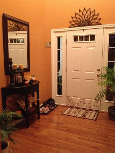entryway  autumnal  sherwin williams rustic dining