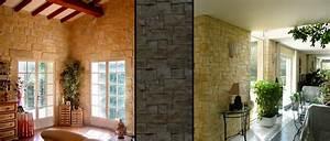 creapierre decoration d39interieur en pierres de parement With decoration interieur avec pierre