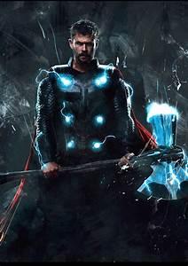 Thor.. Stormbreaker... Just wow | Thor art, Marvel thor ...