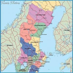 Orebro Sweden Map
