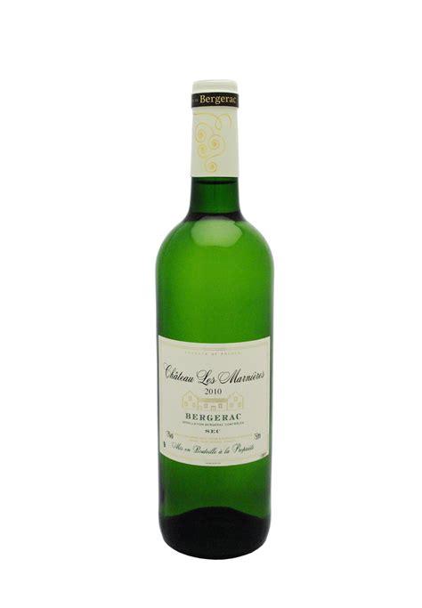 vin blanc sec bergerac 2016