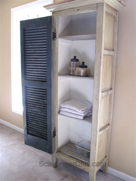 upcycled projects shutters scavenger chic