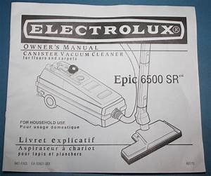 Electrolux Usa  Aerus Manual Cover Caboodle