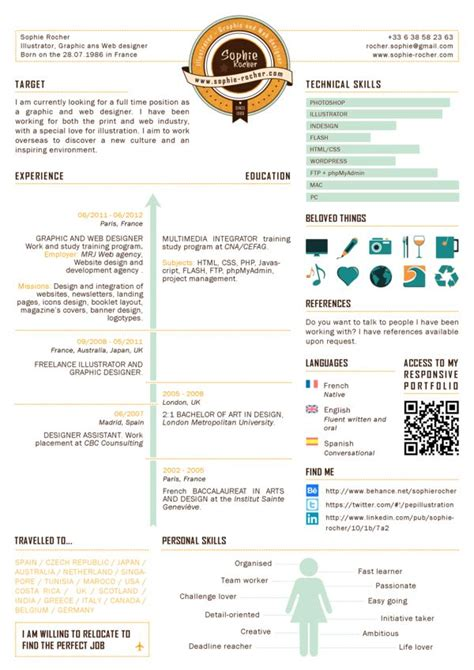 Infographics Resume Software by 1341 Best Images About Resume Design On Graphic Design Resume Free Resume And Cover