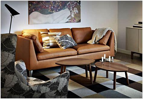 ikea canapé cuir 3 places ikea canape cuir idées de décoration à la maison