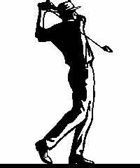 Golf Club Clip Art Black And White - ClipArt Best