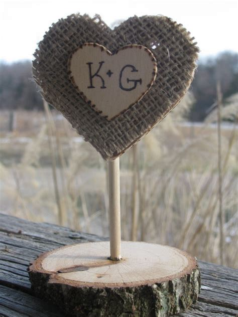 rustic wood and burlap cake topper by cedarwoodrustics on etsy 10 00 diy rustic country