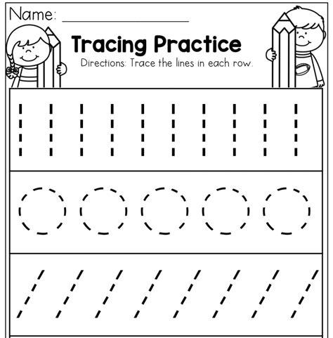 preschool tracing worksheets best coloring pages for 152 | Preschool Tracing Practice Worksheets 1008x1024