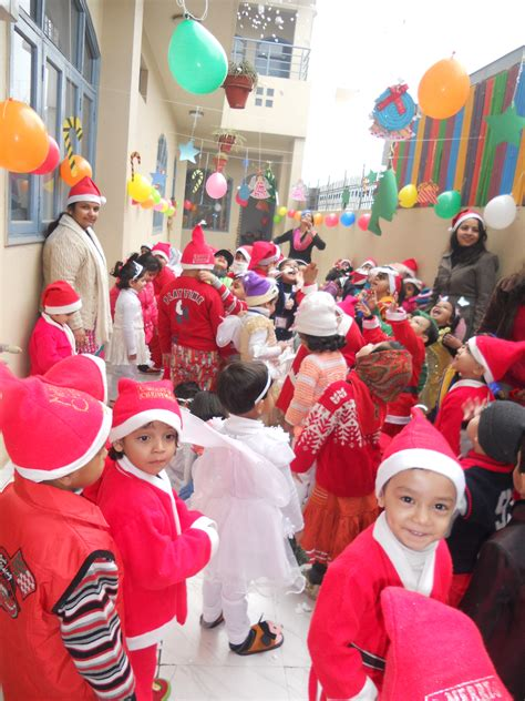 christmas day  play school  ghaziabad