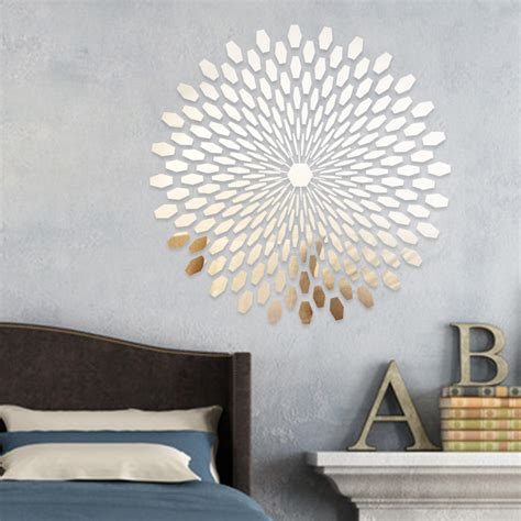 sparkle bathroom mirror wall decal reflective wall decals ideas to