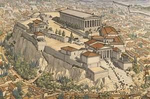 Athènes - Jean-Claude Golvin