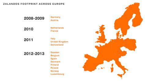 zalando growth european countries smart insights