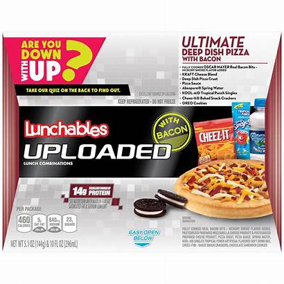 Lunchables Pizza Oscar Mayer Uploaded Nutrition Dish