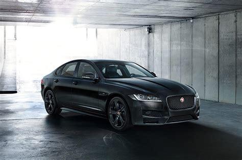jaguar reveals black edition models   holiday season