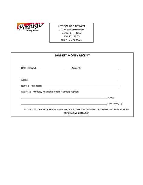 earnest money agreement form ichwobbledich com