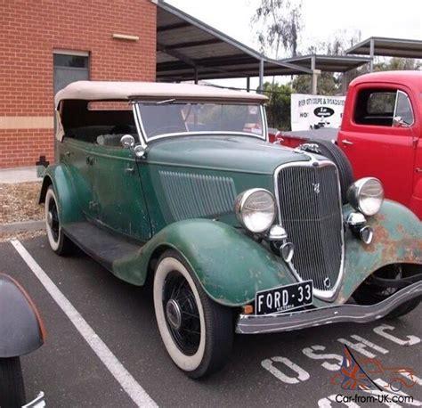 1933 Ford Phaeton In Vic