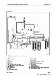 Komatsu Engine 140e