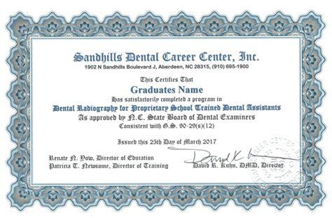 description sandhills dental career center