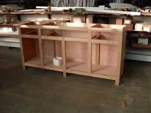 meuble bois buffet furniture making youtube With comment arreter une saisie de meuble