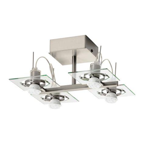 4 spotlight ceiling light fuga ceiling spotlight with 4 spots chrome plated clear