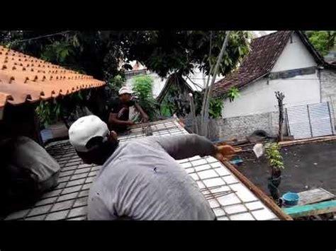 dak beton teras rumah minimalis  kokoh  tangguh