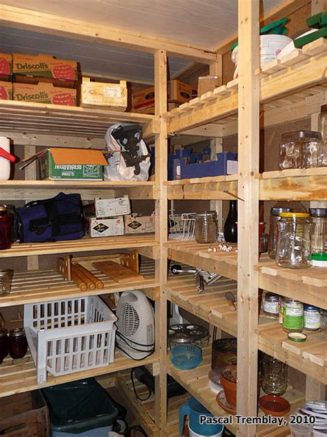 cold storage unit plan food storage shelves  storage bins