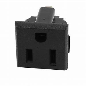 Ac 125v 15a Us Plug 3 Terminal Outlet Power Socket
