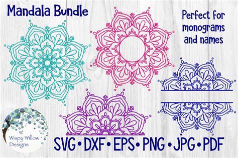 Ornamental mandala vector art free vector. Huge Mandala Bundle | 36 Designs - SoFontsy