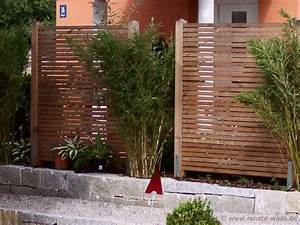 Garten Sichtschutz Bambus : gartenblog geniesser garten sichtschutz ~ A.2002-acura-tl-radio.info Haus und Dekorationen