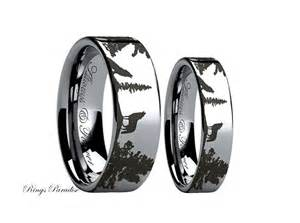 wedding ring sets black his and hers promise rings wedding promise engagement rings trendyrings