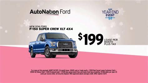 autonation year  event tv commercial  christmas tree